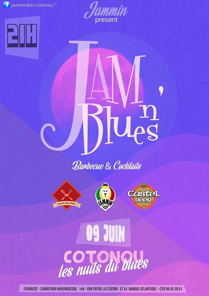 bbq + nuit du blues au jammin