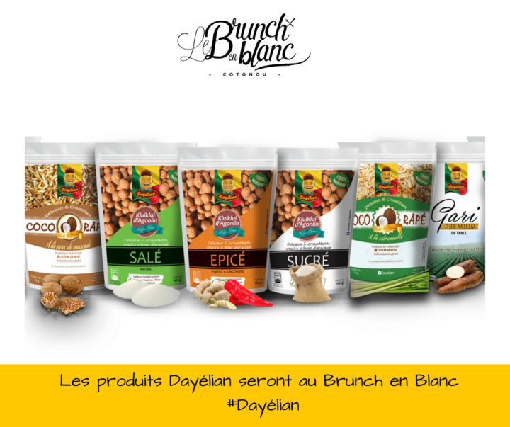 Food Event Le Brunch en Blanc ce 20 août à Cotonou Kluiklui d'agonlin