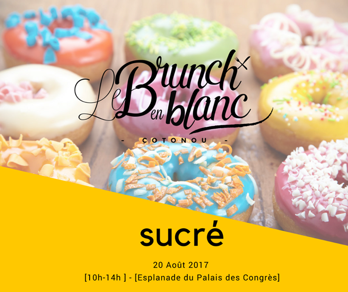 Food Event Le Brunch en Blanc ce 20 août à Cotonou